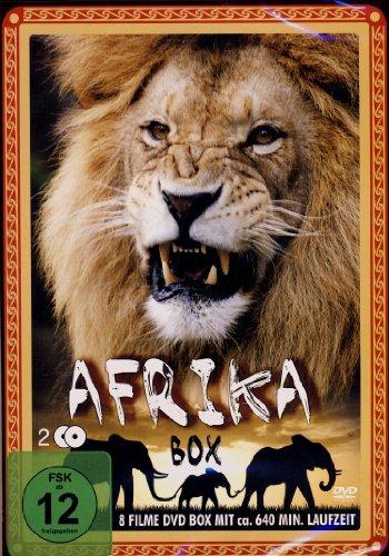 AFRIKA - BOX (2 DVDs - 8 Filme)