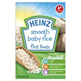 Heinz Smooth Baby Rice First Foods 4 Months Plus 100 g (Pack of 6)