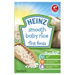 Heinz Smooth Baby Rice First Foods 4...