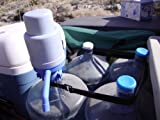 Water Bottle Pump - The Original Dolphin Manual Drinking Water Pump - Fits Most 5-6 Gallon Water Coolers