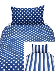 2 Pack Striped & Star Print Bedsets
