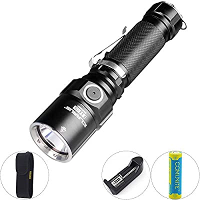 KLARUS ST15 1100LM CREE XP-L HI V3 LED Tactical 18650 Flashlight Torch + Battery from KLARUS