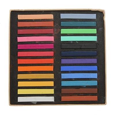 Fashion Fast Easy Temporary Color Hair Dye Crayon Chalk 24 Colors Salon Kit Set by Fivestartstore Co.,LTD