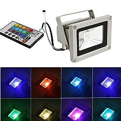 10w watts RGB led flood light outdoor
