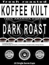 Koffee Kult Coffee Single Serve Capsules for Keurig K-Cup Brewers from Koffee Kult Corp