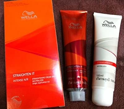 Wella Straighten IT Intense N/R , Straightening cream and Neutralizer for normal and resistant hair 100ml.