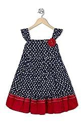 Soulfairy Girls' Dress (SS16-DRSNAU-209_Navy_2-3 Years)