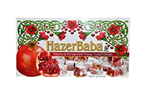 Hazer Baba Pistachio & Pomegranate Turkish Delight, 454g
