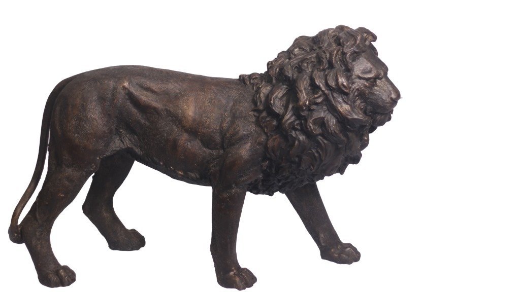 Gracious Lion Statues For Garden And Home Entry