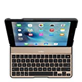 【国内正規代理店品】belkin ベルキン iPad Air2対応 QODE™ Ultimate Lite キーボードケース(ブラック/ゴールド) F5L190QEBGB-A