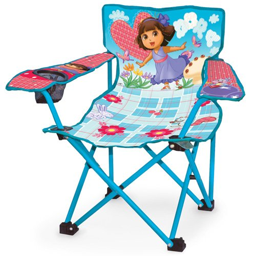 Dora the Explorer Folding Camping Kids Chair