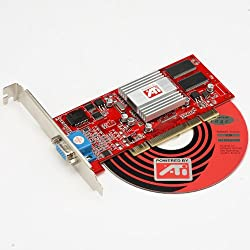 PCI Ati Rage 128VR 128 VR Video Graphics Card VGA 32MB 32 MB