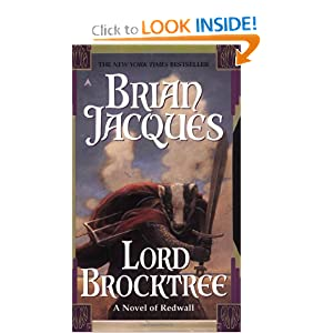 Lord Brocktree: A Novel of Redwall by Brian Jacques