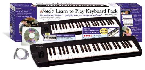 eMedia Learn To Play Piano & Keyboard Pack w/USB