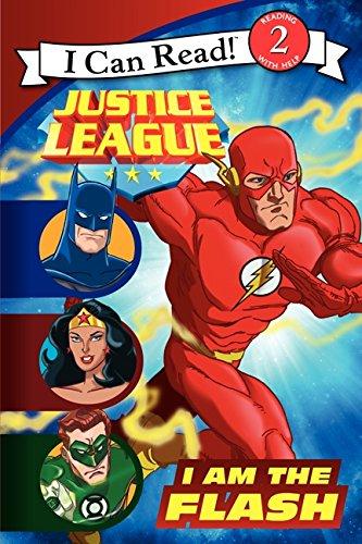Justice League Classic: I Am the Flash (I Can Read Level 2)