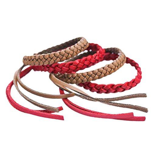kinven mosquito bug repellent faux leather bracelet bands