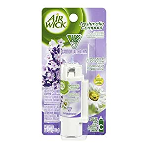 Air Wick Freshmatic Compact Automatic Spray Refill, Lavender Fields, 0.80 Ounce (Pack of 10)