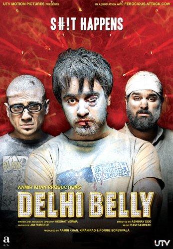 Delhi Belly (2011) (Aamir Khan Productions / Comedy / Hindi Film / Bollywood Movie / Indian Cinema /DVD)