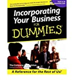 img - for [(Incorporating Your Business For Dummies )] [Author: The Company Corporation] [Mar-2001] book / textbook / text book