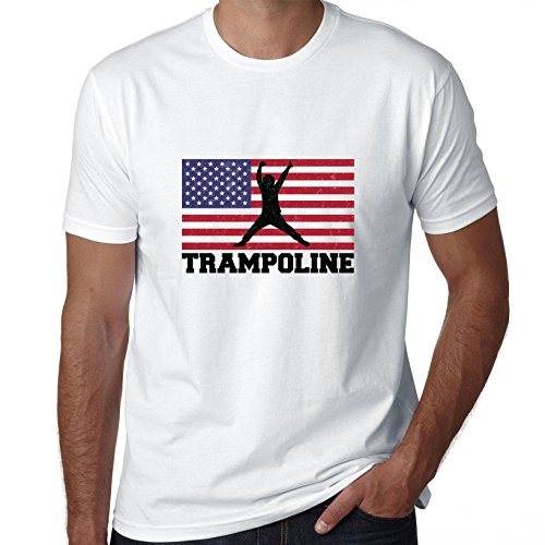 USA-Olympic-Trampoline-Flag-Silhouette-Mens-T-Shirt