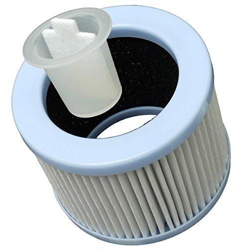 Air Naturel Buldair Kit de Filtre à particules avec charbon actif/réceptacle/10 cotons de diffusion