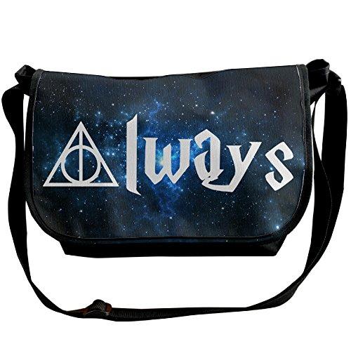 [Harry Potter Always Satchel Bag Crossbody Messenger/Shoulder Bag] (Hermione Granger Costume Casual)