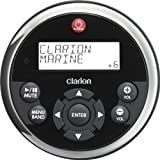 Clarion MW1 Watertight Black Face with Stainless Steel Bezel Remote with LCD Display for 2009 Marine Source Units image