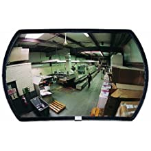 See All Round Rectangular Acrylic Outdoor Convex Security Mirror