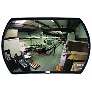 See All Round Rectangular Glass Indoor Convex Security