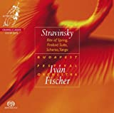 Stravinsky: The Rite of Spring; Firebird Suite; Scherzo; Tango(plays on ALL CD Players) Budapest Festival Orchestra
