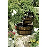 Two-Tiered Wooden Fountain, Model# DSL-2211