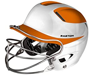 Buy Easton Natural Two-Tone Senior Batting Helmet with Mask by Easton
