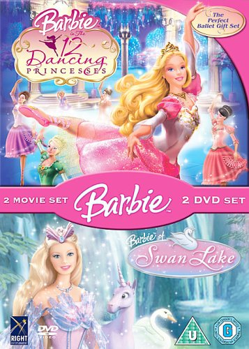 Barbie In The 12 Dancing Princesses and Swan Lake Boxset [DVD]