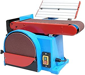 Ponceuse à bande stationnaire 6500 PRO, avec rotation horizontale et