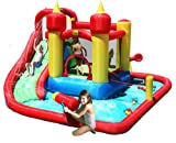 Duplay Jump And Splash Funland Bouncer 14FT Bouncy Castle With Water Slide