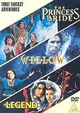 Fantasy Triple (Princess Bride, Willow, Legend) [DVD]