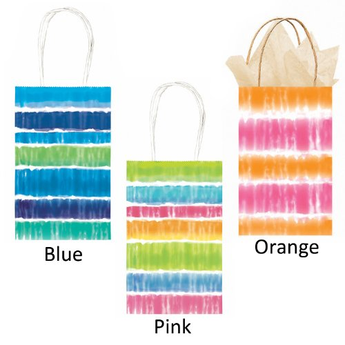 Party Bag - Tie Dye (Orange) Party Accessory