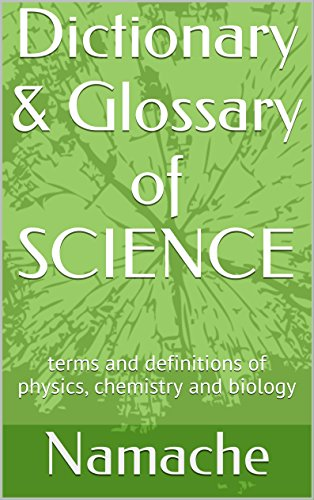 science terms dictionary