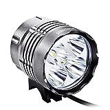 Sahara Sailor 5600 Lumens LED Bike Headlight with Rechargeable 4400mAh Battery