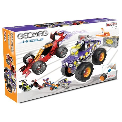 Geomag 62 Piece Hot Rods Set (62 Pieces) by Flair