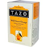 Tazo Herbal Tea Wild Sweet Orange -- 20 Tea Bags