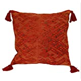 Laura Luna Textiles LL16A-111 Clochi Pillow, 20-Inch by 20-Inch