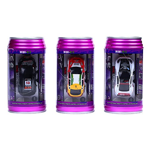 ZufallsfarbeMini-RC-Raser-ferngesteuertes-1-63-Auto-Coladose-Verpackung-Fernsteuerung-mit-Ladefunktion-inkl-Zubehr