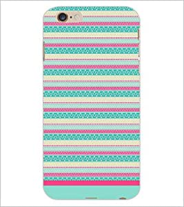 PrintDhaba Tribal pattern D-1770 Back Case Cover for APPLE IPHONE 6S PLUS (Multi-Coloured)