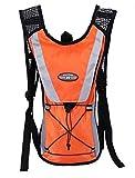 Rant Bell 自転車 ハイドレーションバッグ サイクリングバッグ リュック 容量 1.5L 2L (オレンジ)