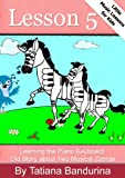 Little Music Lessons for Kids: Lesson 5 - Learning the Piano Keyboard: Old Story about Two Musical Zebras