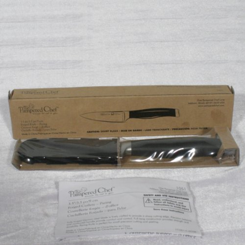 "Pampered Chef Forged Knife 3.5"" Paring #1051"