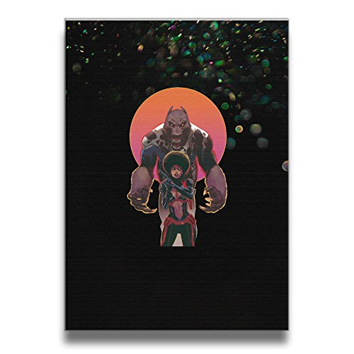 [Bekey Iron Fist Misty Knight Canvas Prints Artwork For Home Office Decorations Wall Decor For Living] (Dr Strange Modern Costume)