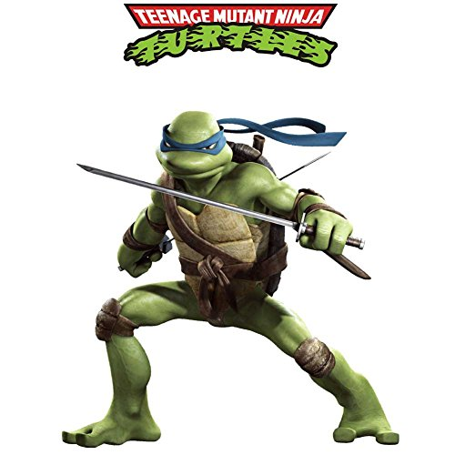 Fange Large 3D Teenage Mutant Ninja Turtles Art Mural Vinyl Wall Stickers Kids Room Decor Nursery Decal Sticker Wallpaper 33.5''x25.4''