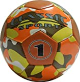 Mini Soccer Ball Green Camouflage - 6 inch (SOLD OUT on ORANGE CAMOUFLAGE)